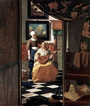 Johannes Vermeer : The Love Letter II